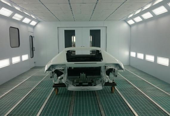 Lakovací a sušící kabiny